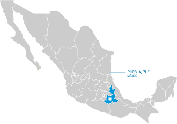 Mexico, map